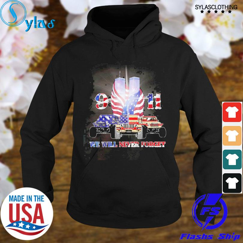 Jeep 9 11 We Will Never Forget American Flag Shirt Masswerks Store
