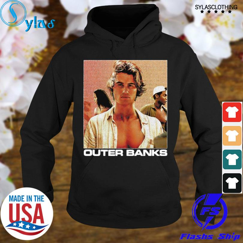 Awesome john b portrait outer banks s hoodie